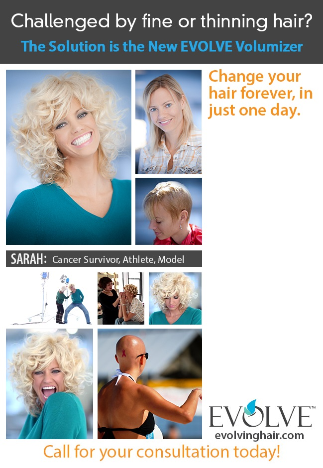 EVOLVE Hair System for Thinning Hair