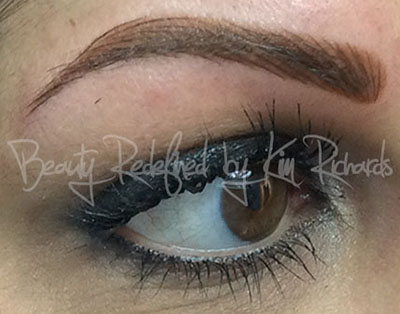 Hybrid Brow/Powdered Brow and Microblading Hair Strokes